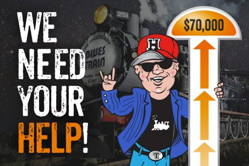 How to support The Blues Train fundraising campaign